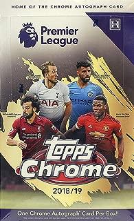 2018/19(2019) Topps Chrome Premier League HOBBY Soccer box (18 pk)