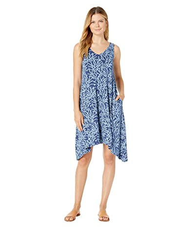 Fresh Produce Coral Clusters Lydia Dress (Moonlight Blue) Women