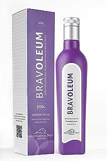Bravoleum 500ml, variedad picual, aceite de oliva virgen extra de categoría superior