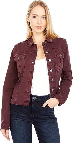 Kara Jacket in Deep Wine