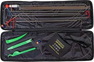 Roadside Specialists Automotive Tool Kit with Long Reach Grabber, Air Wedge Pump, Non Marring