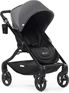 Ergobaby Stroller, Travel System Ready, 180 Reversible with One-Hand Fold, Graphite