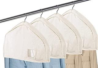 MISSLO Cotton Shoulder Covers Garment Bags for Clothes 2