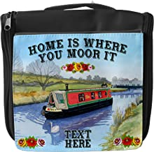 Personalised Canal Barge Mouse Mat Pad Computer Gaming Narrow Boat Gift Him Her