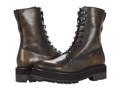 Free People Collins Combat Boot (Black) Women