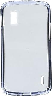 MYBAT LGE960HPCTR010NP Durable Transparent Case for LG Nexus 4 E960-1 Pack - Retail Packaging - Smoke