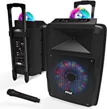 Wireless Portable PA Speaker System – 700 W Battery Powered Rechargeable Sound..