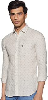 US Polo Association Men's Checkered Loose Fit Casual Shirt