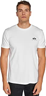 Alpha Industries Herren T-Shirts Basic Small Logo