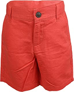marc janie Baby Boys Linen Striped Pull on Shorts