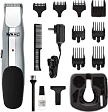 Wahl Beard and Mustache Trimmer, Cordless Rechargeable Facial Hair Trimmer with 5 Length..