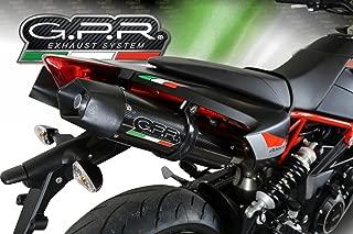 Aprilia Dorsoduro 900 2017-2018 GPR Exhaust Dual SlipOn Silencers GPE CF New