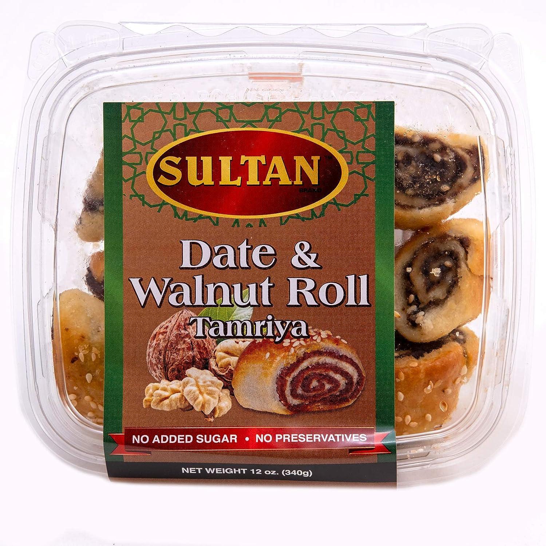 Max 62% OFF Sultan Brand Date and Mesa Mall Walnut Rolls Added with No Tamriya Sugar