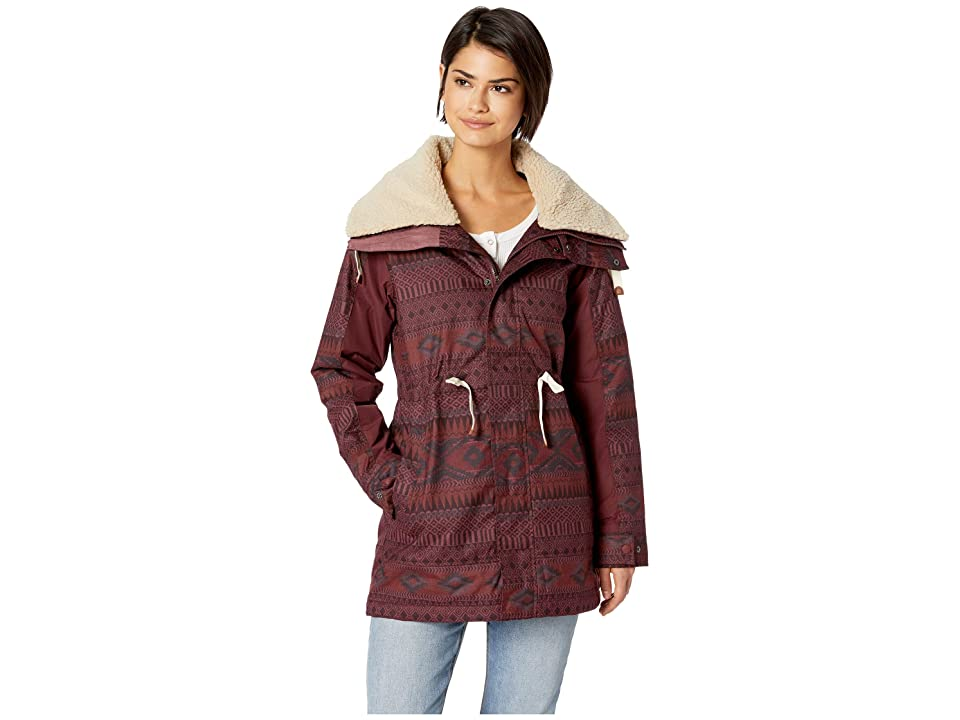 Burton Hazelton Jacket (Port Royal Freya Weave) Women