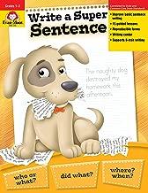 Evan Moor Write a Super Sentence