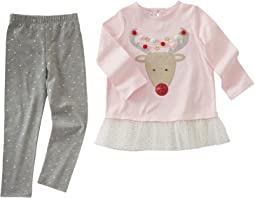 Mud Pie - Reindeer Tunic & Leggings Set (Toddler)