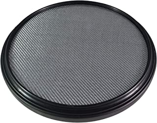 The 12-inch Double Sided Practice Pad, Marching Snare Pad - Fully Rimmed with an Articulate Carbon Fiber Laminated Surface, Realistic Feel