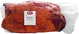 Apple/Hickory Smoked Danish Style Bacon Slab - 5-6 Lb Avg (Pack of 2)