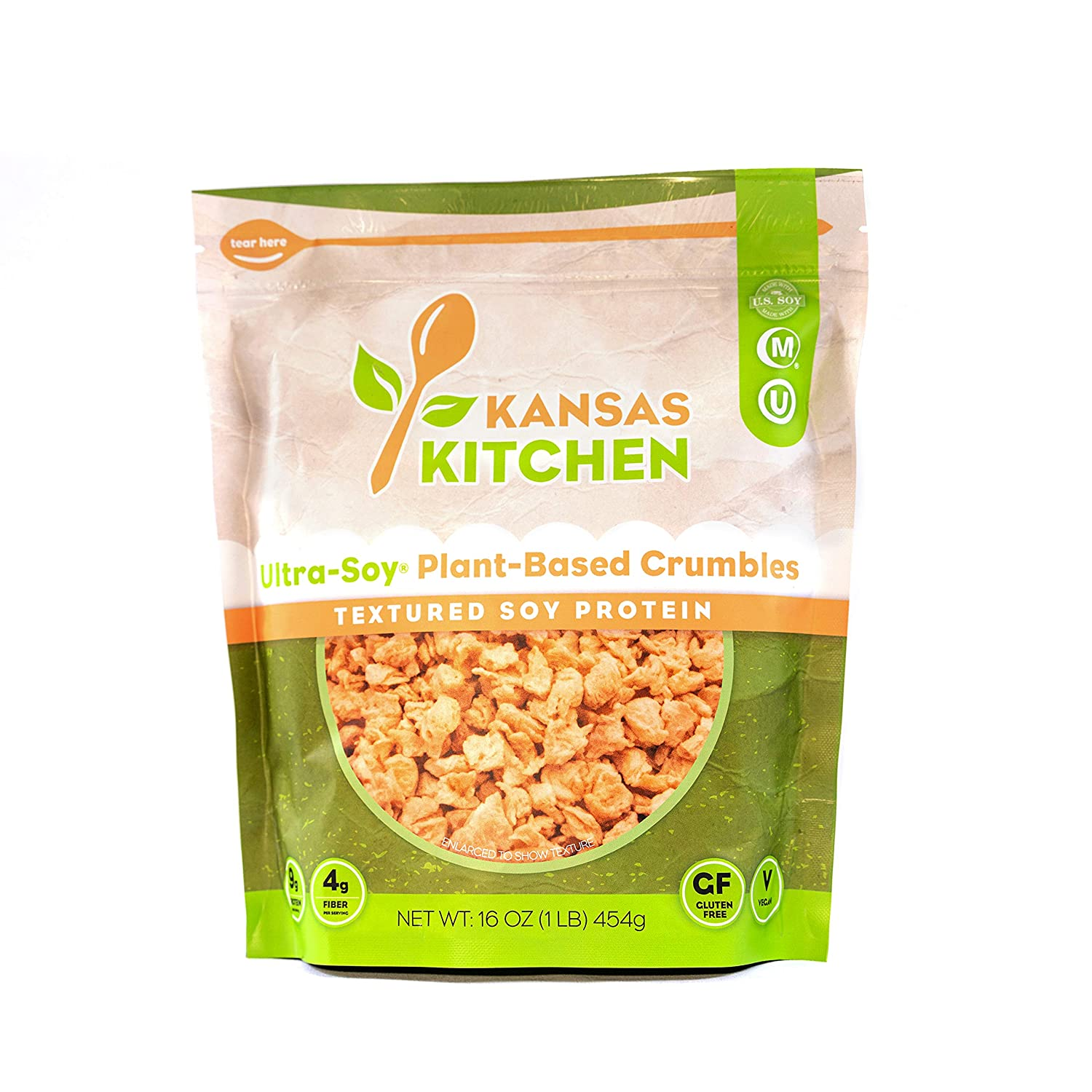 Kansas Sale Special Price Kitchen - Ultra-Soy Te Superlatite Crumbles Unflavored Plant-Based