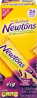 Newtons Fig Fruit Chewy Cookies - Snack Packs, 24 Count Box, 48 Ounce (Pack of 1)