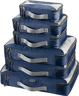 comprar comparacion G4Free 3pcs / 6pcs / 7pcs Packing Cubes de Embalaje Organizador de Maletas Organizador de Embalaje de Equipaje Valor Estab...