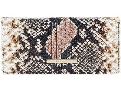 Brahmin Evita Ady Wallet (Tea Rose) Handbags