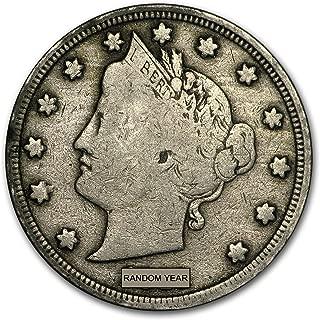 1883-1912 Liberty Head V Nickel Avg Circ Nickel Very Good