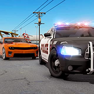 Crime Town Police Car Chase Vs Gangsters : Police Car Driving Pro Robber Escape Rush Simulator Best Free Game 2019