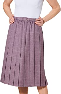 Chums Ladies Womens Pleated Skirt 25 Inches