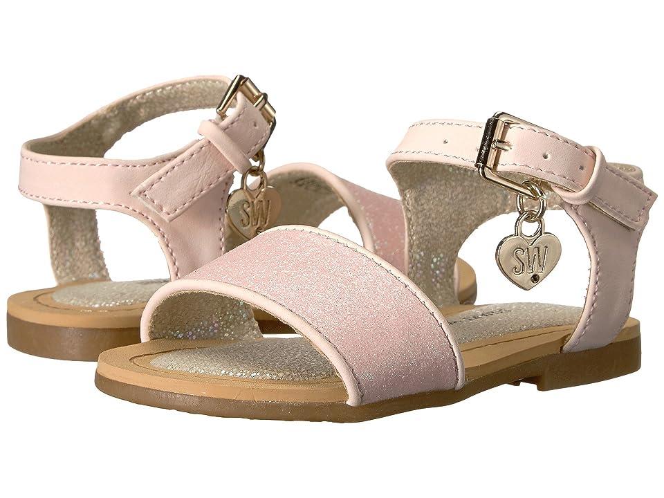 Stuart Weitzman Kids Camia Ava (Toddler) (Rose) Girls Shoes