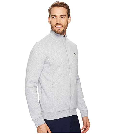 Lacoste Fleece Sweatshirt Zip Sport Full pqwnRFp