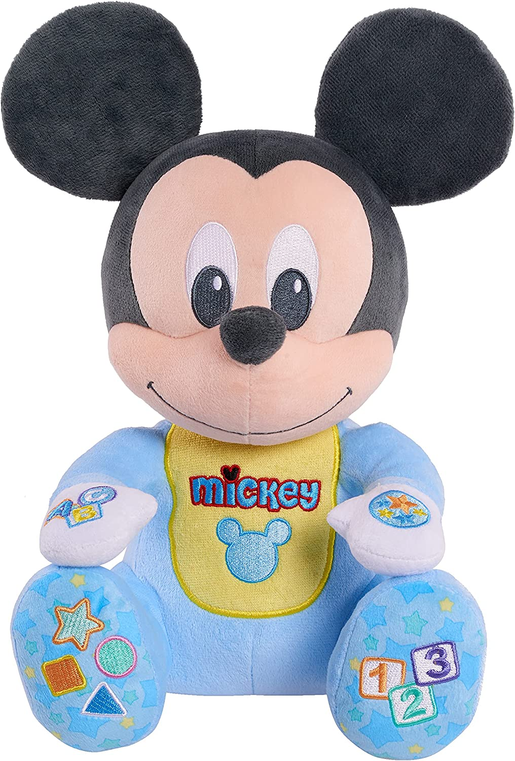 Disney security Baby 2021 autumn and winter new Musical Discovery Plush Play by Just Mouse Mickey