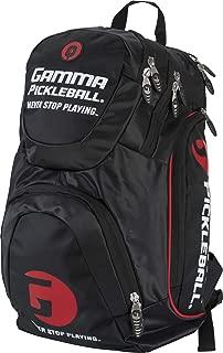 Gamma SGPBP11 Pickleballl Backpack Black/Red/Multi