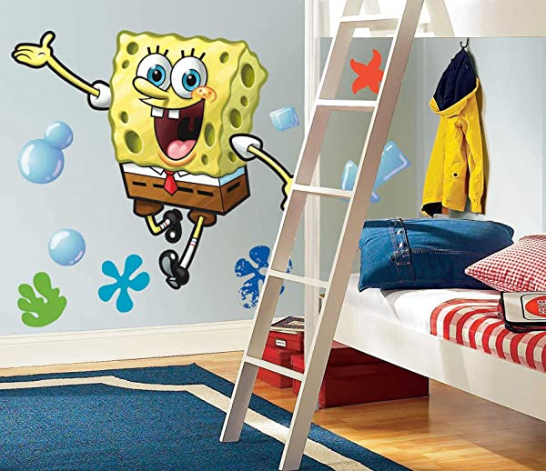 SpongeBob Squarepants Wall Decal Cutout 30 X38