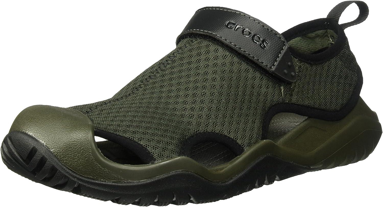 Crocs Herren Swiftwater Mesh Deck Men Geschlossene Sandalen