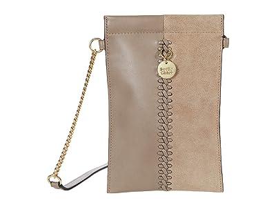 See by Chloe Tilda Clutch (Motty Grey) Handbags