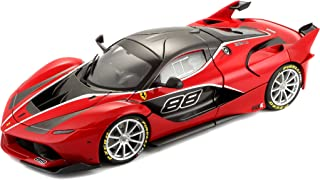 Bburago 18-16907RD Signature 1/18 Scale Diecast - 18-16907 Ferrari FXX K Supercar Red, Multicolor