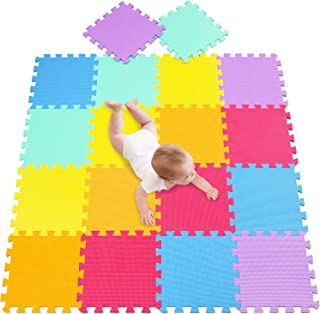 meiqicool - Alfombrilla de Espuma para bebés y niños | 18