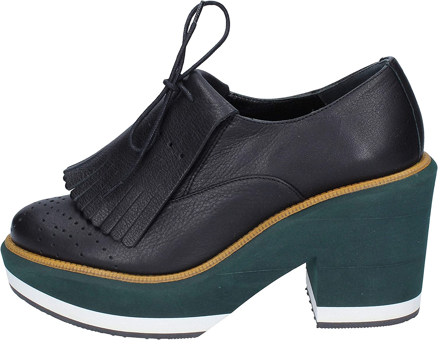 PALOMA BARCELO Oxfords-shoes Womens Leather Black