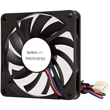 EVERFLOW 707010mm R127010BU 12V 0.45A 3Wire 7cm square Cooling Fan