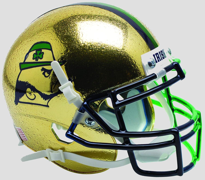 Schutt Unisex NCAA Notre Dame Fighting Irish Football Helmet Desk Caddy 721200087-9, Assorted colors, Mini