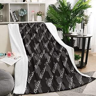 Heart Wolf Billie-eilish-Blend- Blankets Flannel Fleece Blanket Ultra Soft Warm Blanket Winte Cabin Living Bed Blanket Warm Lightweight Blanket 59