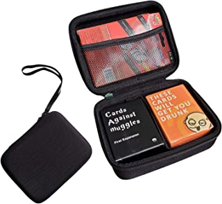 FCML Hard Case Compatible for Phase 10 Fits - C.A.H./Meme/Pokemon/MTG/UNO/Card Sleeves and All Other Card Games, Fits up t...