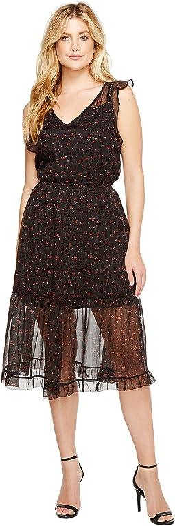 Cal Floral Midi Dress