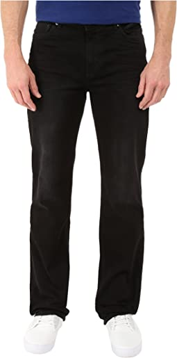 Calvin Klein Jeans Straight Denim in Worn in Black
