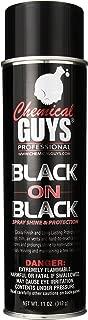 Chemical Guys AIR_Spray_1 Black On Black Instant Shine Interior & Exterior Spray Dressing