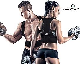 VOETEX ZONE Unisex Magnetic Back Brace Posture Corrector Therapy Shoulder Belt for Lower and Upper Back Pain Relief, posture corrector men for women,back support belt for back pain (XL)