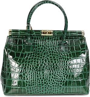 Belli The Bag XL Leder Henkeltasche Handtasche Damen Ledertasche Umhängetasche - 34x25x16 cm B x H x T