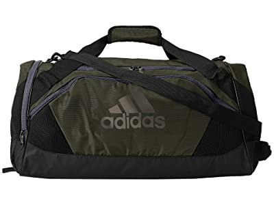 adidas Team Issue II Medium Duffel (Legend Earth Green/Black/Onix) Duffel Bags