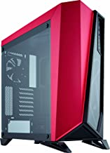 CORSAIR Carbide SPEC-Omega Mid-Tower Gaming Case, Tempered Glass- Red